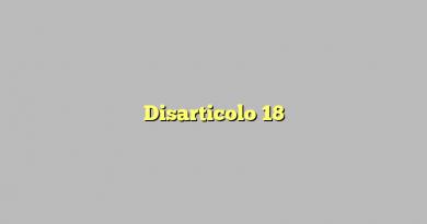 Disarticolo 18