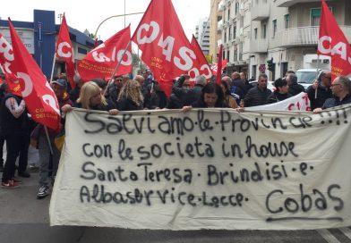 Dipendenti di Alba Service e Santa Teresa in attesa di risposta ministeriale di martedì 17 aprile per la concessione della cassa integrazione.