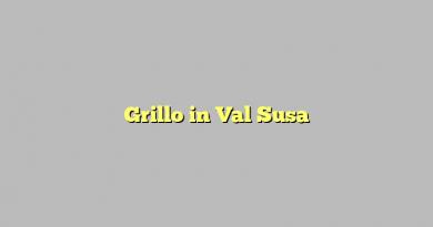 Grillo in Val Susa
