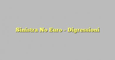 Sinistra No Euro – Digressioni