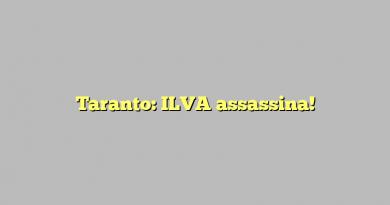 Taranto: ILVA assassina!