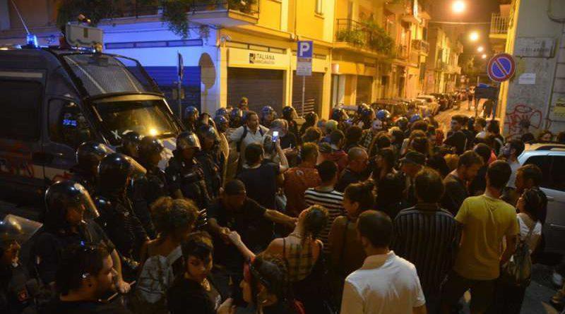 Bari, corteo antifascista e antirazzista  del 21 settembre e solidarietà ai manifestanti