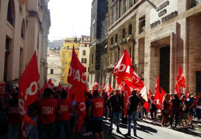 """Roma, incontro al Ministero dello Sviluppo Economico per la vertenza Natuzzi: """"più lavoro meno cemento""""."""