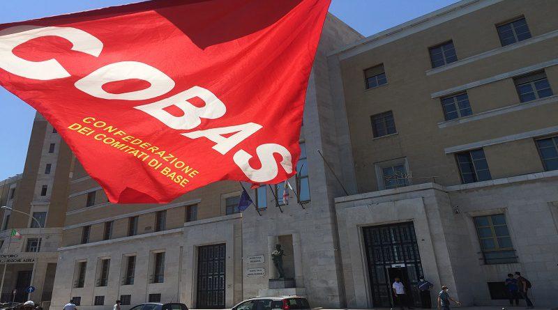 Sit-in di protesta OSS vincitori ed idonei graduatoria di Foggia del 28 Gennaio in ASL di Lecce.