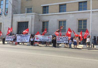 sit-in di protesta del 03 Marzo 2021 a Bari Integrazione Scolastica Pugliese