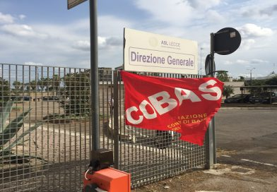 Revoca in autotutela determina prot.0013126 del 26/01/2021 ASL Lecce e Sit-in di protesta OSS vincitori ed idonei graduatoria di Foggia